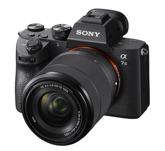 Ludwig uses the Sony A7 III mirrorless camera as his webcam
