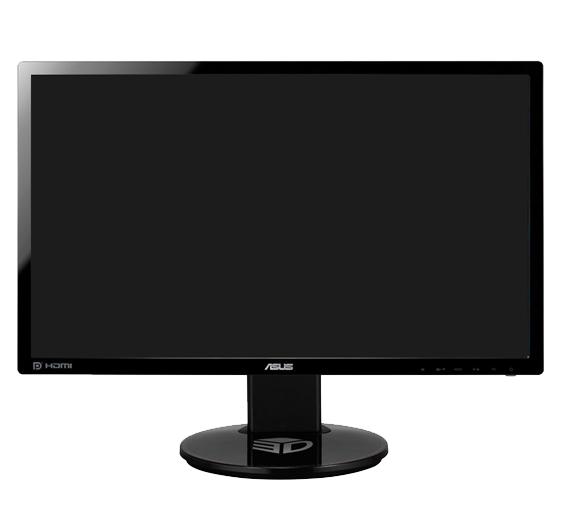 """Leslie has a triple monitor setup and uses 3 identical Asus VG248QE 24"""" monitors for this."""