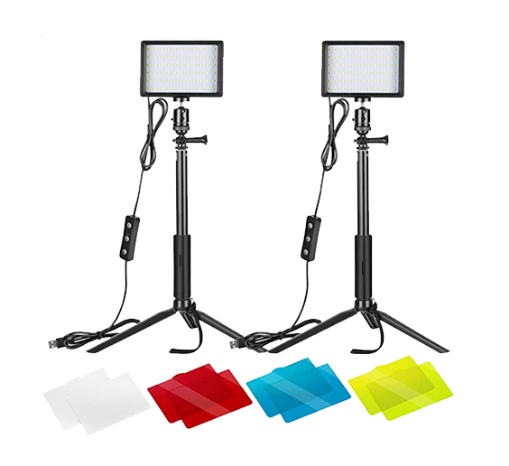 neewer key light set is a great budget lighting solution for twitch