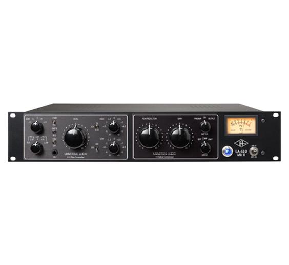 Pokimane uses the Universal Audio LA-610 Mk II audio interface.