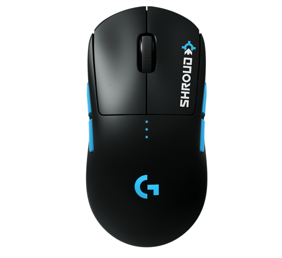 Shroud uses the Logitech Pro X Superlight gaming mouse to play games like Valorant and CSGO.