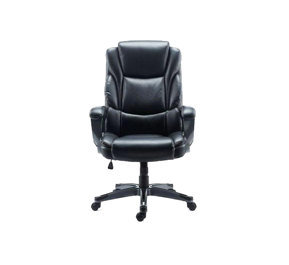Tyler1 uses the McCallum Bonded Leather Managers chair by Staples