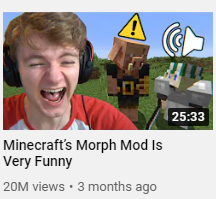 Tommyinnit uses YouTube thumbnails with an outline of his face to get more attention