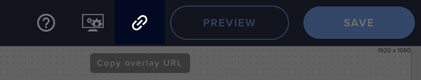 how to copy the streamelements widget url